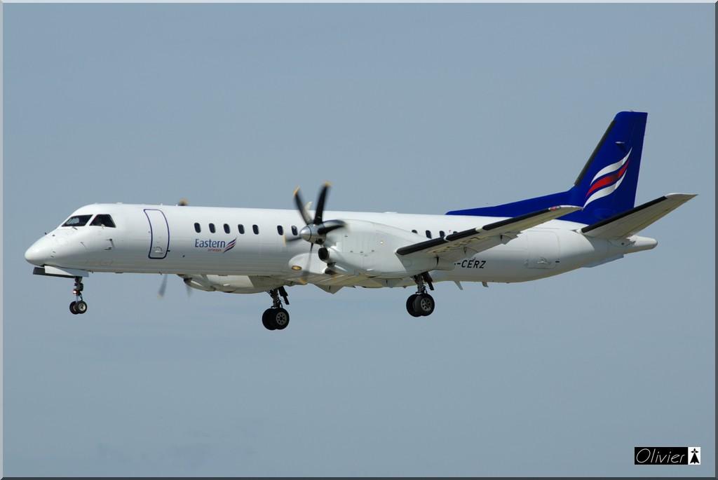 Saab 2000 Eastern Airways G-CERZ le 28.05.11 IMGP9127