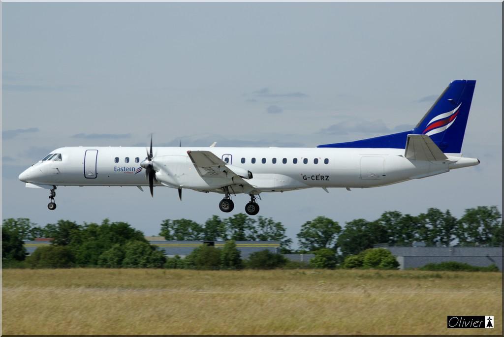 Saab 2000 Eastern Airways G-CERZ le 28.05.11 IMGP9131